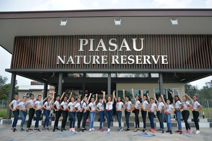 Miss Grand Malaysia 2019 beauty pageant finalists visited Piasau Nature Reserve